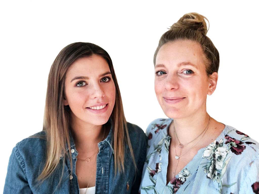 Belinda Viehhauser und Thea Antelmann